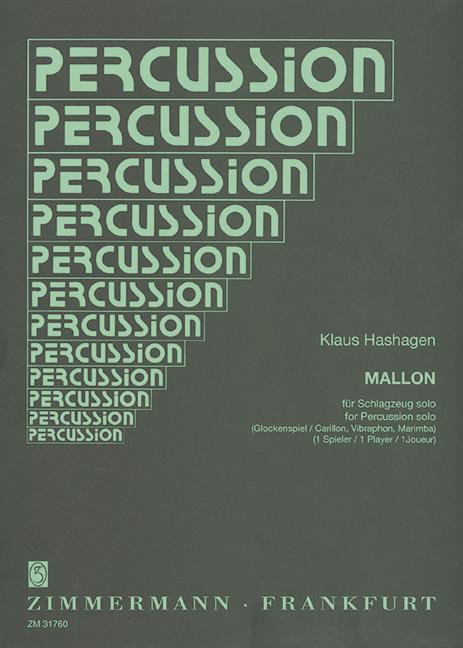 Mallon Hashagen, Klaus Percussion (glockenspiel, Vibraphone Et Marimba) 9790-afficher Le Titre D'origine